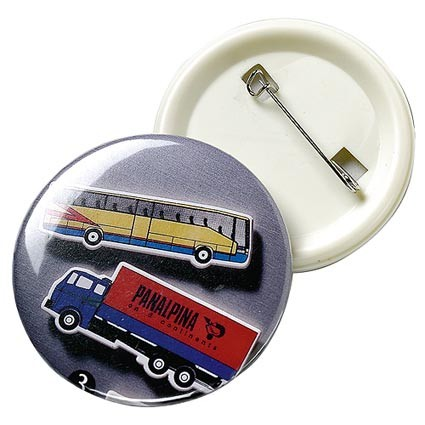 Pin-Button rund