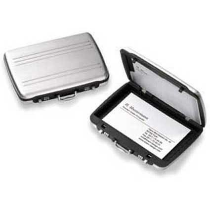 Aluminium Card Box